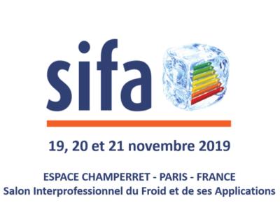 Venez nous rencontrez au SIFA du 19 au 21 novembre à Paris