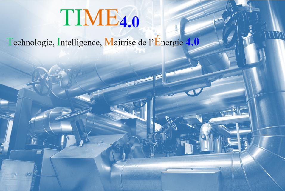 Exemple d'utilisation de la Solution Digitale pour la Performance Energétique TIME 1.0 sur un site industriel