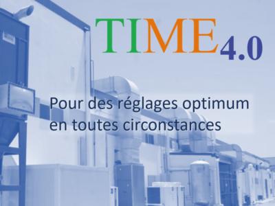 TIME 4.0 la solution pour maîtriser la non-stabilité des réglages machines